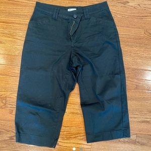 Pants - lee black capris